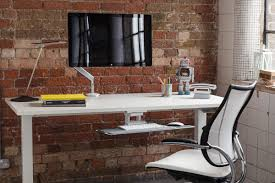Sit Stand Desk Vancouver by Humanscale Float Height Adjustable Table Float Desk
