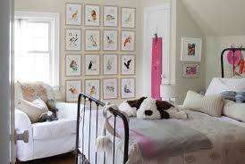 Girls Iron Beds by Vintage Alphabets Art Traditional U0027s Room Country Living