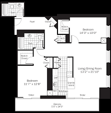 grand floor plans chicago river north apartments grand plaza apartments