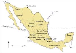 map of mexico cities several cities rank among the cities of the