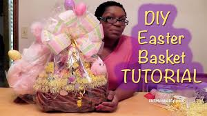 Homemade Easter Baskets by Easter Basket Tutorial Dollar Tree Diy Youtube