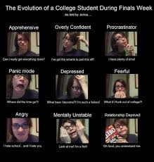 Funny Finals Memes - the collegehumor memes evolution of a college student during