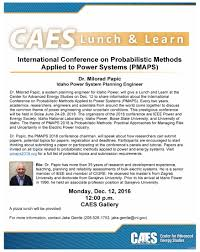 caes pizza lunch and learn international conference on