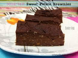 healthy sweet potato brownies hungrylittlegirl