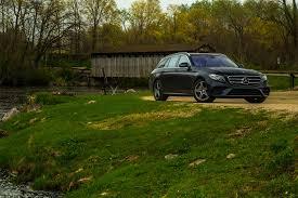 dark green station wagon 2017 mercedes ben e400 4matic wagon one week review automobile