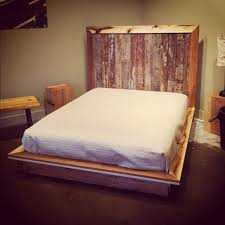 Pallet Bedroom Furniture Wooden Pallet Platform Bed Pallet Design Ideas