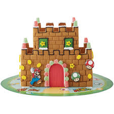 walmart selling super mario bros gingerbread castle kit gonintendo