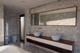 italian marble bathroom designs brown color marble wall layers