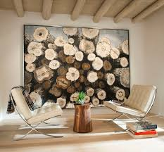 log art ideas dining room contemporary with tree stumps wall art