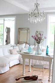 Chandelier Decorating Ideas Shabby Chic Decorating Ideas Living Room Eclectic With Crystal