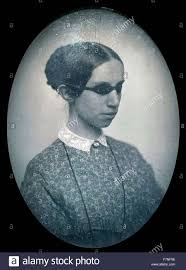 Blind And Deaf Woman Photographic Portrait Of Laura Bridgman 1829 1889 First Deaf