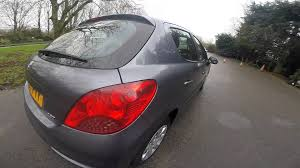 2007 peugeot 207 s grey 5 door 1 4 manual 5 speed great mpg youtube