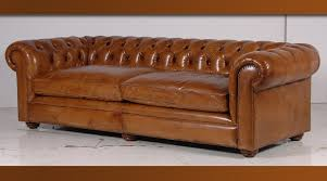 canapé chesterfield ancien canapé chesterfield en cuir italien