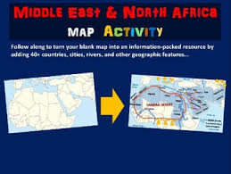 middle east map ppt mena middle east africa map activity follow along ppt