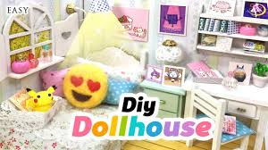 Cute Bedroom Decor by Diy Fandom Dollhouse Cute Miniature Room Decor With Undertale
