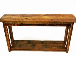 Living Room Sofa Tables by Mission Sofa Table Mission Style Accent Oak Coffeetable With 2