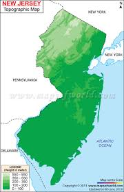 Minnesota Topographic Map New Jersey Topographic Maps