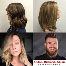 highlights at the best hair salon in philadelphia andre richard