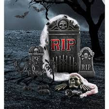 rip tombstone halloween decoration walmart com