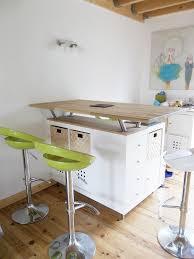fabriquer une table haute de cuisine et ailleurs ilot bar de cuisine au 303 home deco fabriquer un