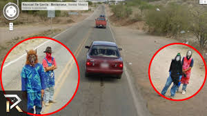 Walking Dead Google Map The Creepiest Google Maps Images Youtube