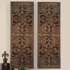 contemporary carved wood wall wall design ideas benzara carved wood wall panel home