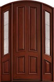Single Door Design by Exterior Great Front Entrance With Single Door And Cube Curve