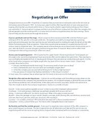 job offer letter negotiating salary best resumes curiculum vitae
