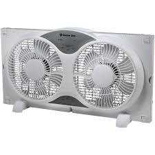 electrically reversible twin window fan comfort zone 326202 reversible twin window fan with remote walmart com