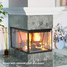 Superior Fireplace Glass Doors by Superior Wrt40pf Wood Fireplace Woodlanddirect Com Indoor