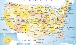 map of america with cities united states map nations project maps united states map