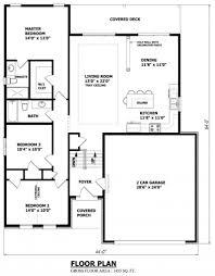 house plan narrow raised bungalow canadian home designs custom