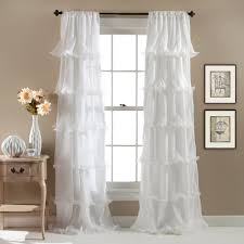 Ruffled Curtains Nursery by Lush Decor Curtains