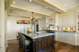 kitchen with center island traditional kitchen with crown molding by detailsadesignfirm
