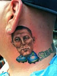 football tattoos mirror online