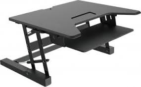 Office Desk Risers Standing Desk Riser By Express Office Furniture Liquidators