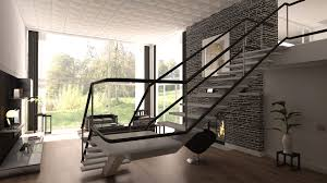 Wohnzimmer Hell Und Modern Attraktive Wandgestaltung Im Wohnzimmer Wand In Steinoptik