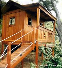 Backyard Fort Ideas Los Angeles Wood Tree Houses Playhouses Play Forts Play
