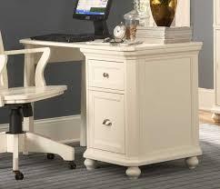 Office Desk With File Cabinet Homelegance Office Desk White 8891w Regdesk