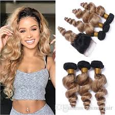 best hair color for a hispanic with roots dark root 1b 27 light brown ombre peruvian virgin hair with lace