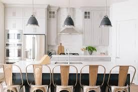 Gray Kitchen Island Dark Gray Kitchen Island With Black Industrial Pendants