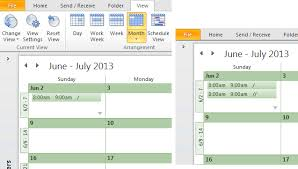 change calendar layout outlook 2013 tip 892 show more appointments on outlook s calendar outlook tips