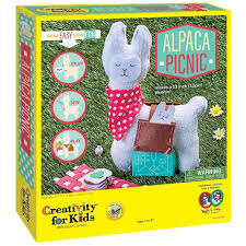 creativity for kids alpaca picnic craft kits