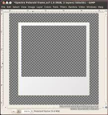 ubuntu digest polaroid frame effect using gimp update