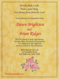 christian wedding invitation wording christian wedding invitation wording in weddinginvite us