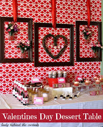 Valentine S Day Cookie Decorating Party by Valentine U0027s Day Dessert Table