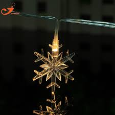 snowflake lights snowflake lighting led christmas tree lights garden string lights