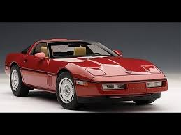 1986 corvette review chevrolet corvette 1986 by autoart 1 18