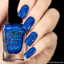 clear nail polish with black glitter nails art ideas