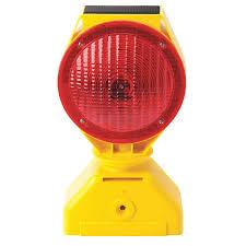 Red Solar Lights by Tapco Solar Barricade Light Led 7 1 2in 35t130 5785445 Grainger